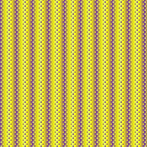 Petite yellow purple gradient dots