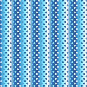 Medium blue shades gradient dots