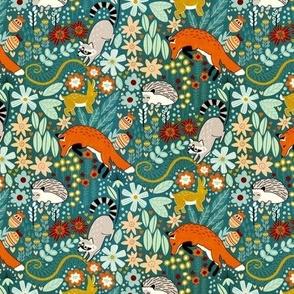 Textured Woodland Pattern (Small Version)
