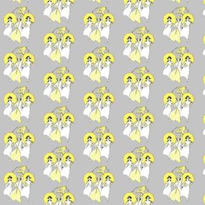 Yellow Parasols