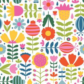 Happy Scandinavian Flowers