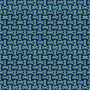 Huggins--blue, small