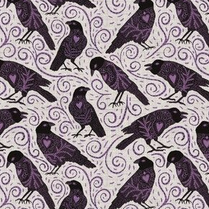 Raven - ivory - small scale