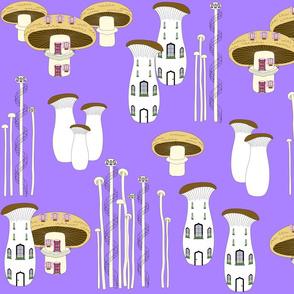 Mushroom Houses Dawn 2020