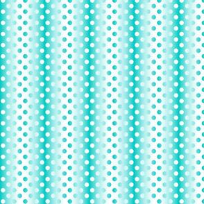 Medium aqua white gradient dots