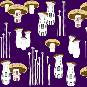Mushroom Houses Twilight 2020