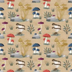 Bella Nora mushroom pattern