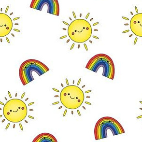 Sunshines and rainbows
