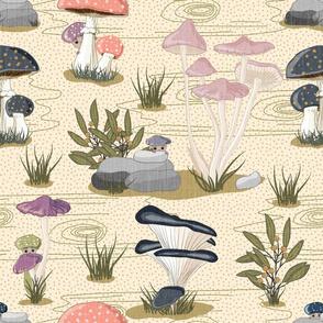 Bella Nora mushroom pattern light