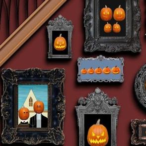 Pumpkin Family Gothic