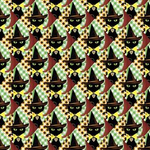 Halloween kitty pattern