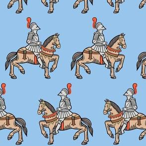 knightly - light blue