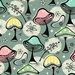 Mid Mod Mushrooms