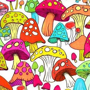Mushroom Patch Large