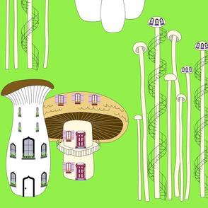 Mushroom Houses Springtime Grande 2020
