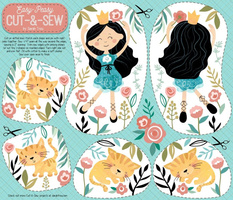 Dancing with Kittens - Cut-and-Sew