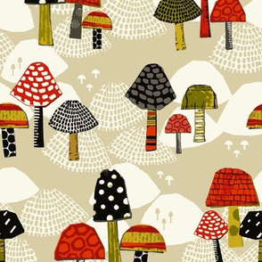merry mushrooms
