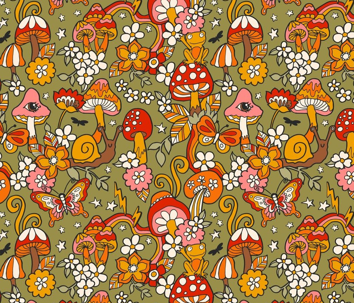mushroom pattern-01