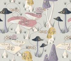 Bella Nora fairytale mushroom pattern