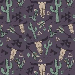 Western Elements Purple