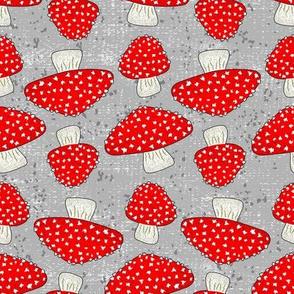 Ruby Toadstools ©Julee Wood