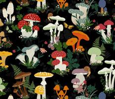 mushroom garden large scale