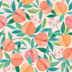 Just Peachy Peaches - small repeat