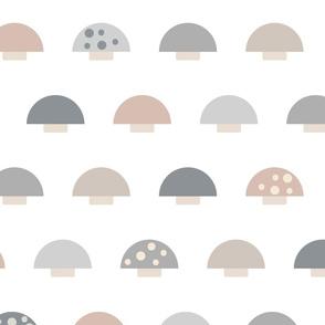 (L) Minimalist Mushrooms - Large