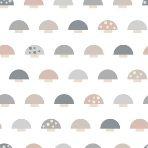 (S) Minimalist Mushrooms - Small