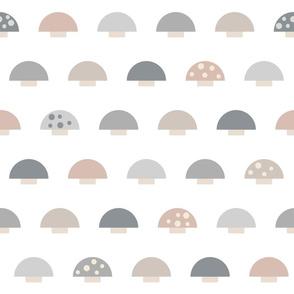 (M) Minimalist Mushrooms - Medium