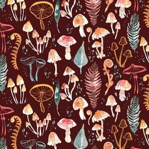 Woodland Floor Fungi
