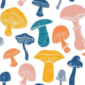 Happy Mushrooms by Angel Gerardo - Large Scale