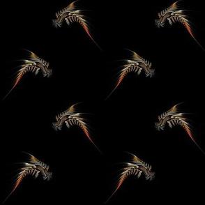 fractal phoenix - small