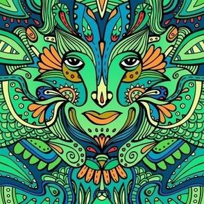Goddess #3 /  Emerald Green