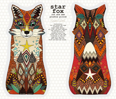 star fox plushie pillow
