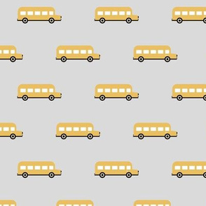 Sweet American school bus design for back to school icon bus usa yellow gray
