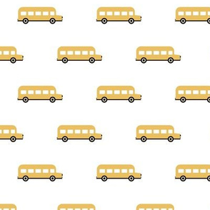 Sweet American school bus design for back to school icon bus usa white yellow