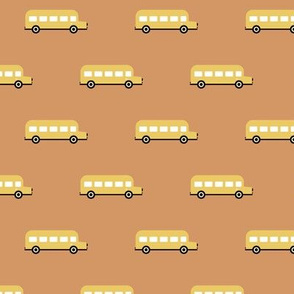 Sweet American school bus design for back to school icon bus usa cinnamon fall yellow