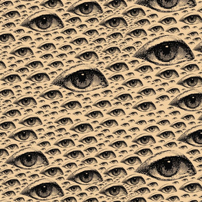 Eye Eye Eye Newsprint