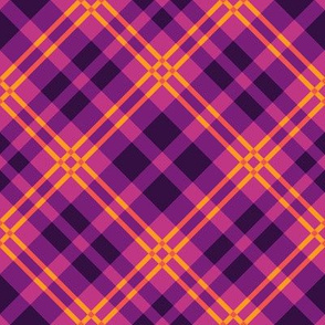 Warm Purple Plaid