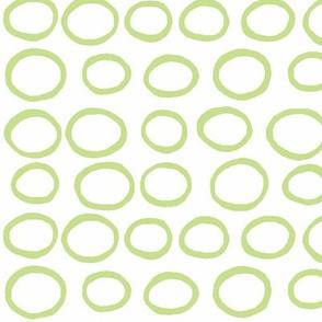Wobbly peas (lime)