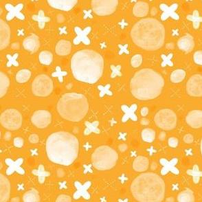 Orange Xs and Os