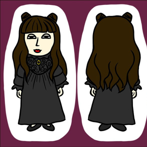Spooky Doll Cut And Sew