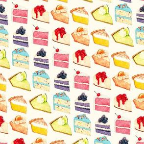 Rainbow Cake & Pie