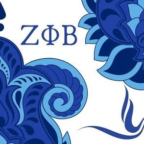Sigma Gamma Rho Polka Dot Fabric