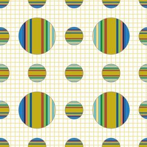 Striped Globes
