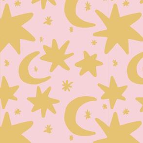 stars rosa gold