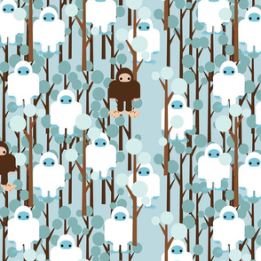 LOST IN YETI FOREST SMALL