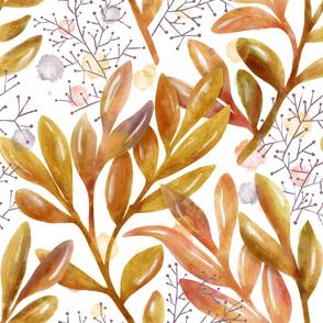 Foliage Watercolor - Jumbo Scale