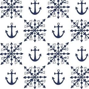 maritime winter love – medium scale